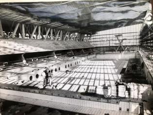 50m Pool being built